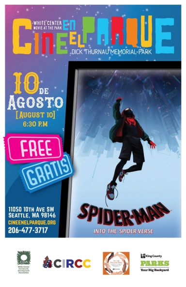 Cine en el Parque 10 de Agosto Spider-Man Movie Poster