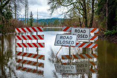 Road closures in the Snoqualmie Valley